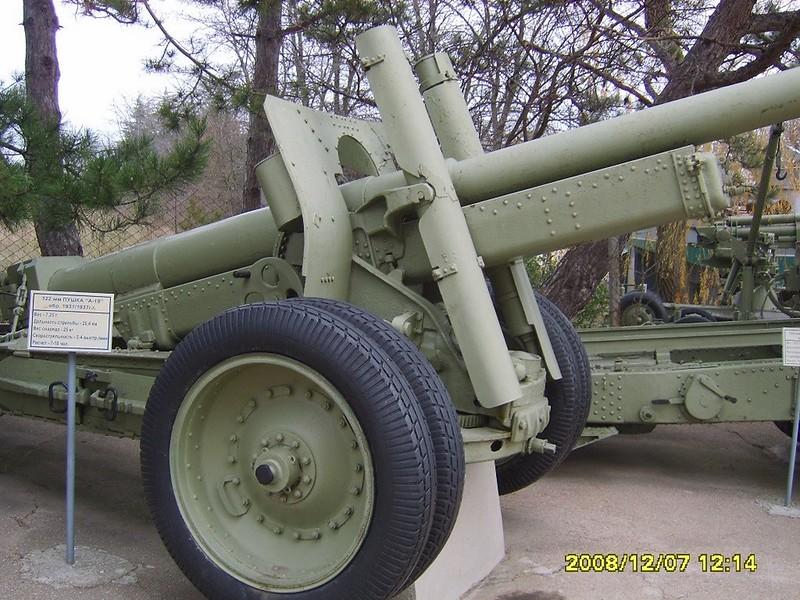 122mm Gun А-19 4