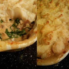 Finally a chance to get back into #newrecipemonday with a creamy chicken, spinach, and mushroom bake topped with mash potato. It was perfect for the colder weather.