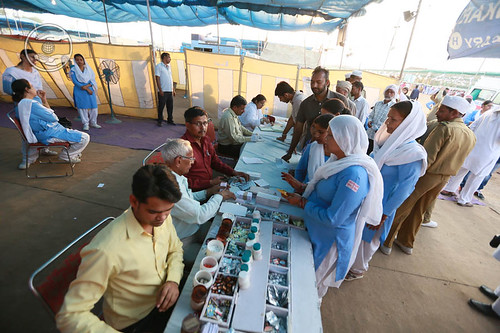 Allopathic Dispensary in the Samagam Ground