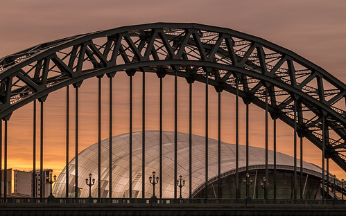 thesage gateshead sunrise early morning tyne bridge architecture arch newcastle f64