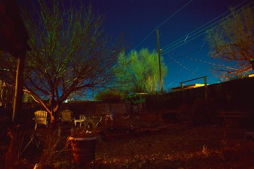 slidefilm night landscape silverfastaistudio8 manualfocus film mdwrokkorx24mmf28 rvp50 longexposure pacificimageelectronicsprimefilmxa availablelight minoltax570 startrails velvia e6 prime analog fujichromervp50 austin tx usa