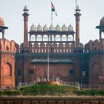Lahori Gate of Red Fort, Old Delhi, India オールド・デリー レッド・フォート(ラール・キラー)のラホーリー門