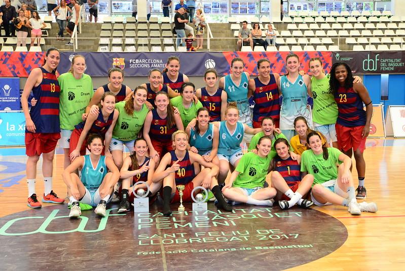Final a Quatre Copa Catalunya Femenina 2016-17