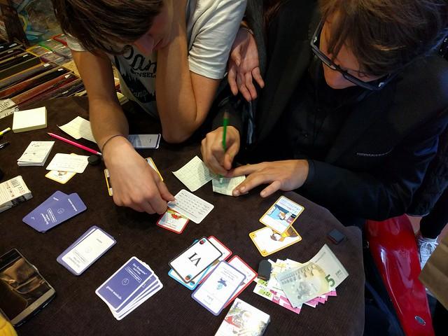 """2017 - Stratagemma Firenze - Si gioca con il card game """"Comporre è un gioco"""""""