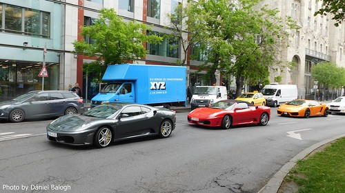 Ferrari F430, F430 Spider and Lamborghini Gallardo LP560-4