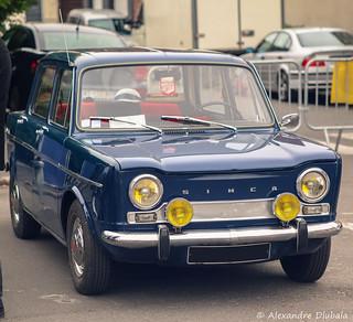 1967 Simca 1000