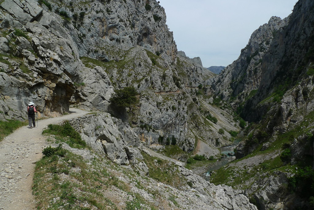 Ruta Del Cares Poncebos To Cain To Poncebos Spain Flickr