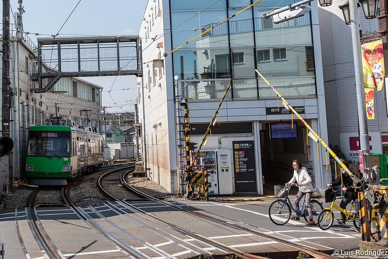 Estación de Setagaya, junto al mercadillo Setagaya Boroichi