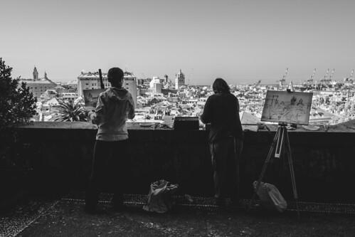 Dipingere Genova dalla sua terrazza più affascinante - Superbi. I genovesi e la loro città