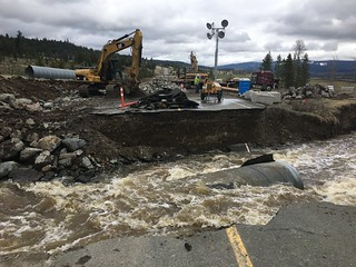 Work continues on Highway 97D | by TranBC