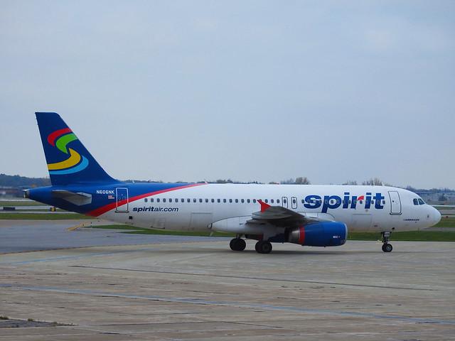 Spirit Airlines –  Airbus A320-232 N606NK @ Niagara Falls