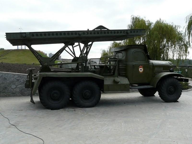 BM-13 on ZiL-157 7