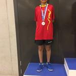 Silbermedaille für Chinmay an Kantonalmeisterschaft U13