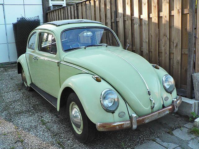 Volkswagen Typ 1 Beetle with sliding roof 1960 (1012757)