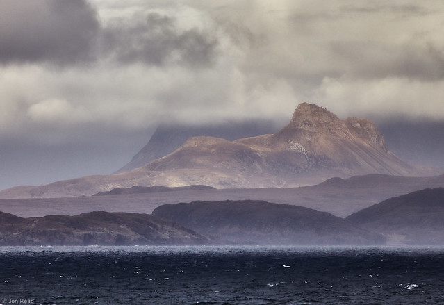 Stac Pollaidh from the Minch