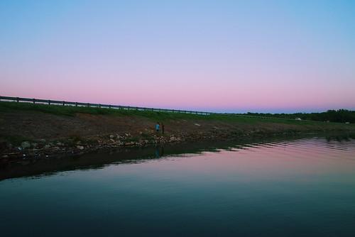 sony a7s fe28 full frame sunset lake jocomo nature landscape