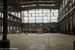 Deserted Loco Repair Hall