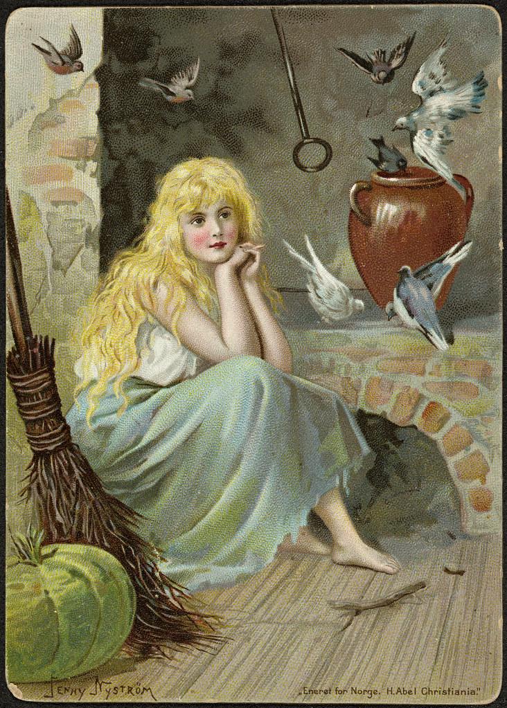 68b908f63 Askepott / Cinderella | Dato / Date: ca. 1890-1895 Kunstner … | Flickr