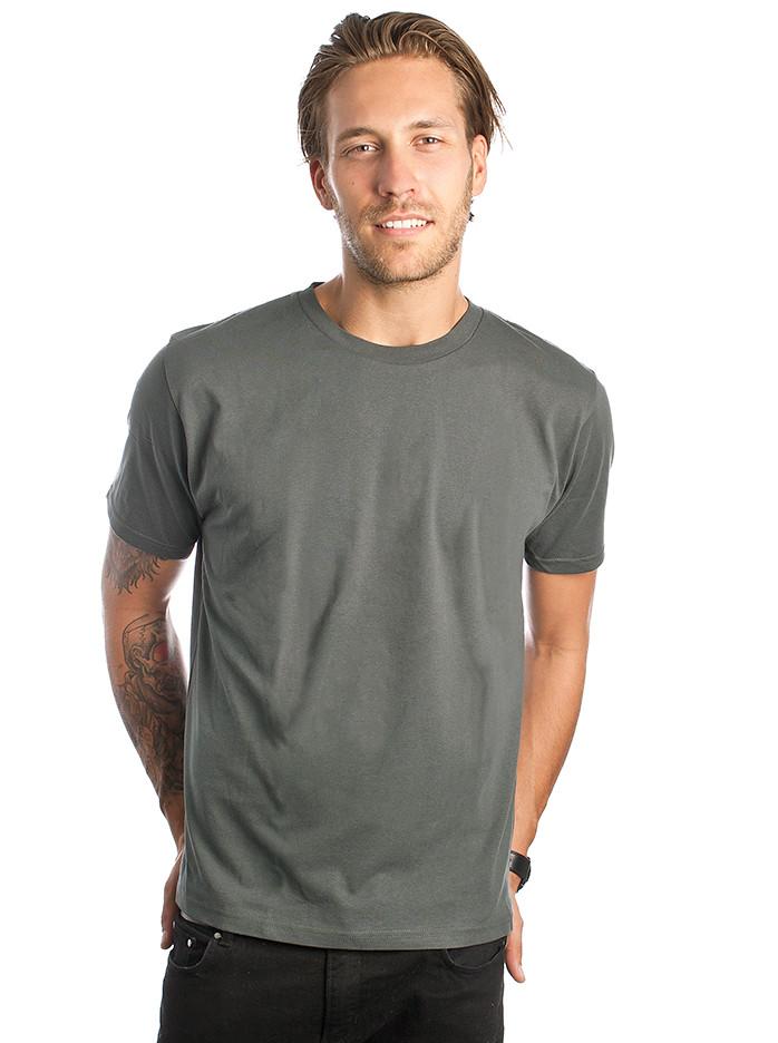 photo of a man wearing an organic t-shirt in Australia