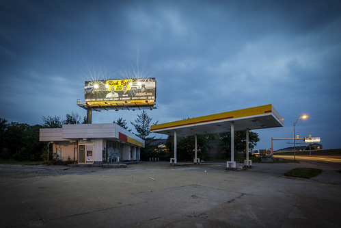 Abandoned Gas Station | by Notley Hawkins