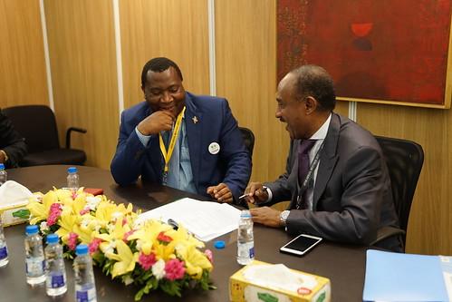 Ceremony of Agreement between AfDB and Burundi, AM 2017