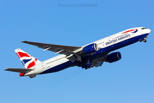 G-YMMS / British Airways / Boeing 777-236 (ER) / Barcelona (BCN/LEBL) / 20-06-2017