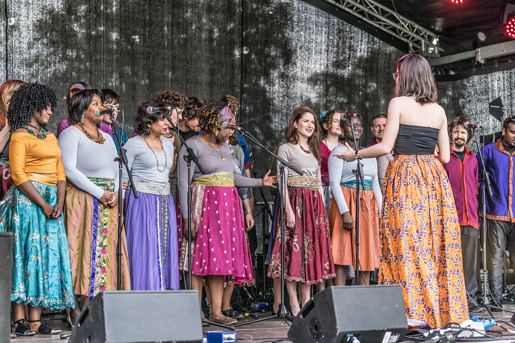 Discovery Gospel Choir At Africa Day 2017 In Dublin [Irela