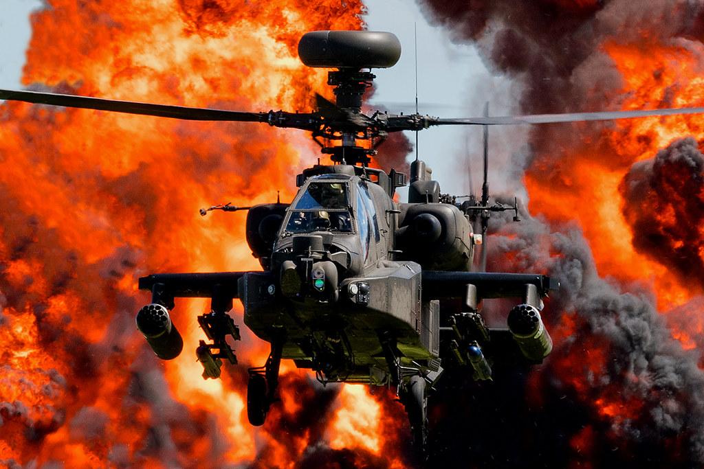 AH64 Apache ZJ207