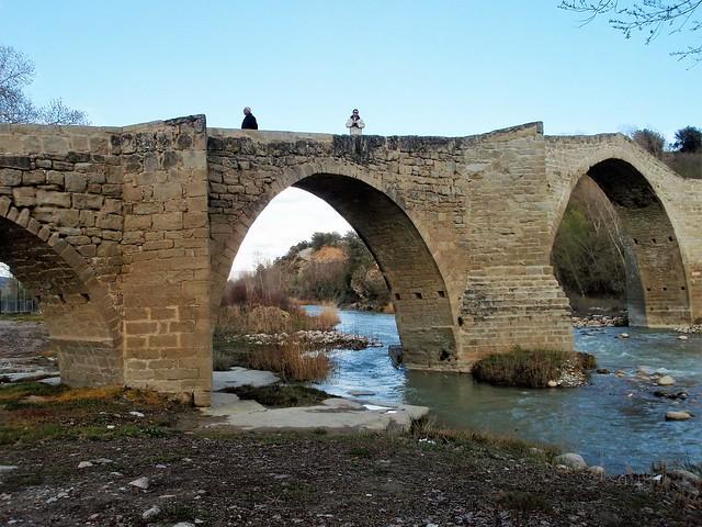 Puente Románico de Capella.