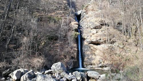 Le cascate di Acquafraggia