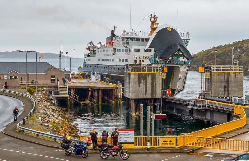 The Skye ferry at Tarbert, Isle of Harris