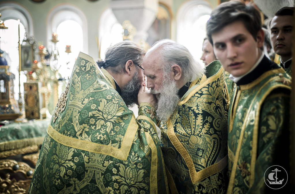 14 июня 2017, Литургия в Иоанновский монастыре Петербурга / 14 June 2017, Divine Liturgy at the Convent of St. John of Rila