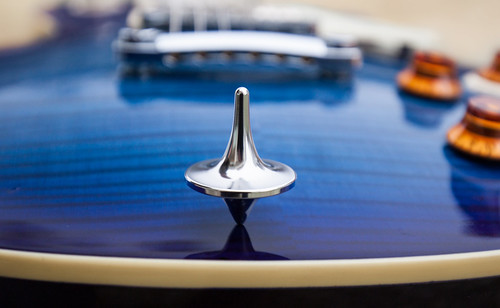 Stainless Steel Mirror Top on Epiphone Les Paul | by webernetz