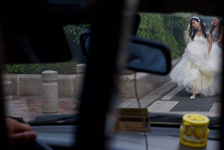 Guangzhou Bride from taxi. | by dagboshoots