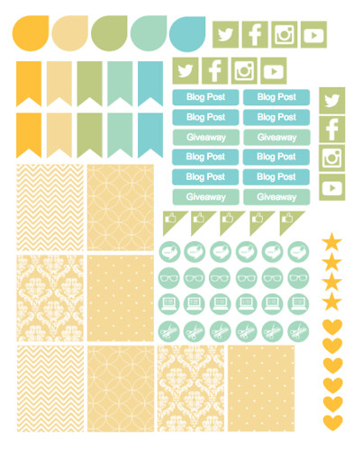 Blogging Stickers | by mmmbisto