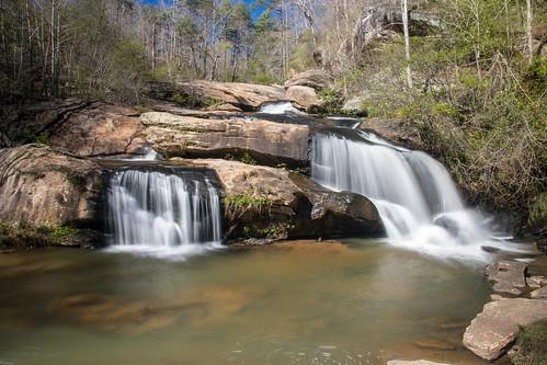 chauramfalls southcarolina waterfall statepark oconeecounty