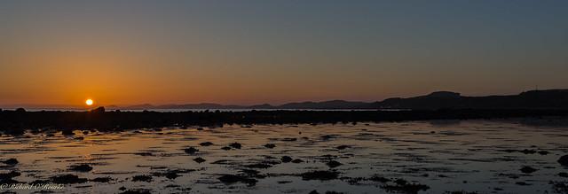 North Ayrshire sunset
