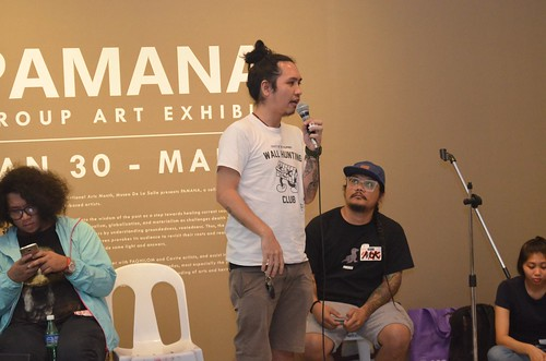 Mural Painting Talk by the street artist group, CVTY Collective at Museo de La Salle-Dasmarinas | by paghilomcavite