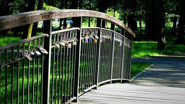 Most zakochanych - Bridge of lovers
