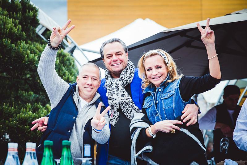 Александр Новиков, Виктория и Олег Шеляговы (1)