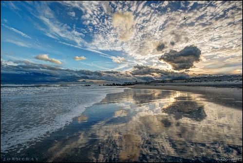lidobeach lidowest newyork atlanticocean atlantic ocean lido beach ny lbny lb 20170507d810070608 nikon d810 reflection surf sand reflect