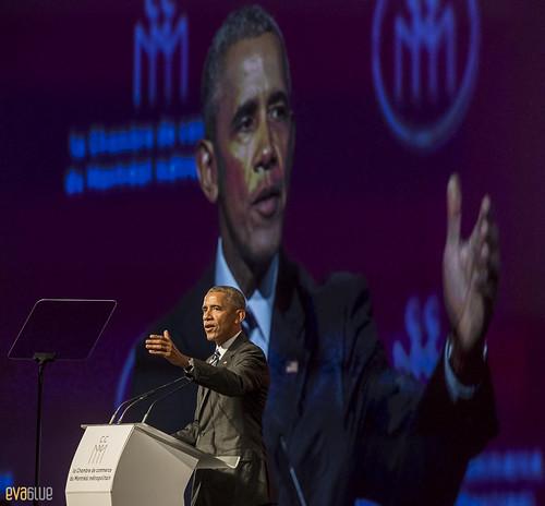 barack obama palais des congres montreal - 09 | by Eva Blue