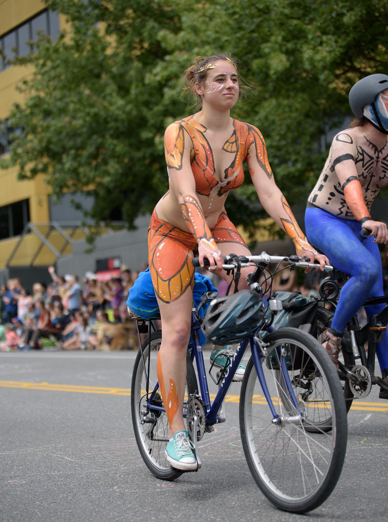 Attractive Seattle Naked Bike Png