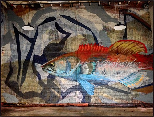Fiddlin Fish Brewery Mural | by iamhieronymus@gmail.com
