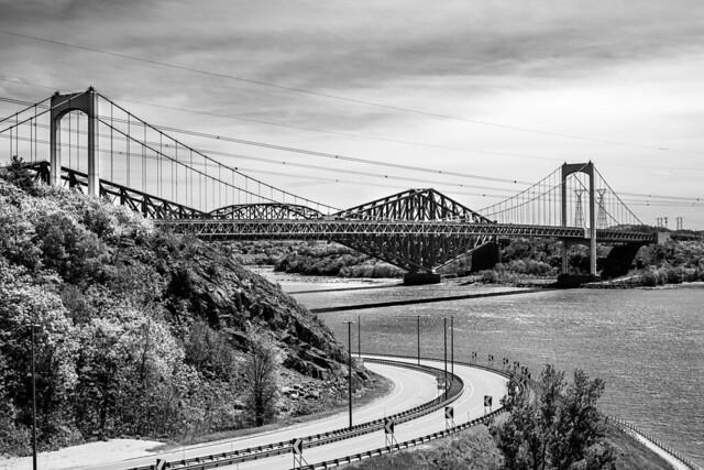 Pierre-Laporte and Quebec Bridge
