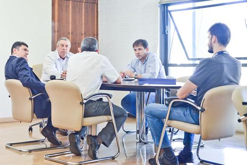 Reunião com IBGE
