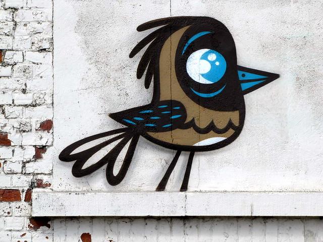Buë the Warrior - the Crystal Ship - street art festival - Ostend - Belgium