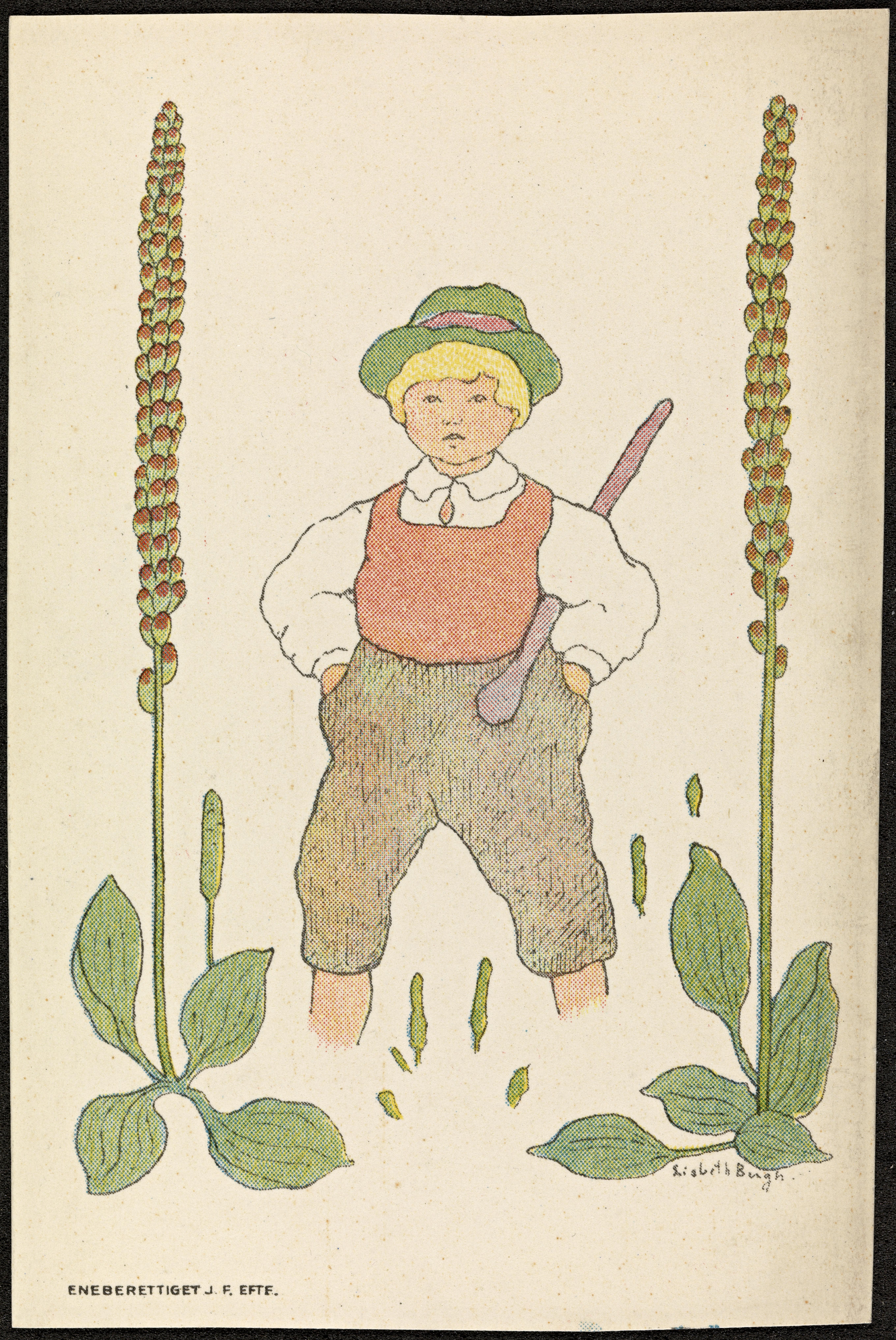 Barnemotiv av Lisbeth Bergh / Child by Lisbeth Bergh