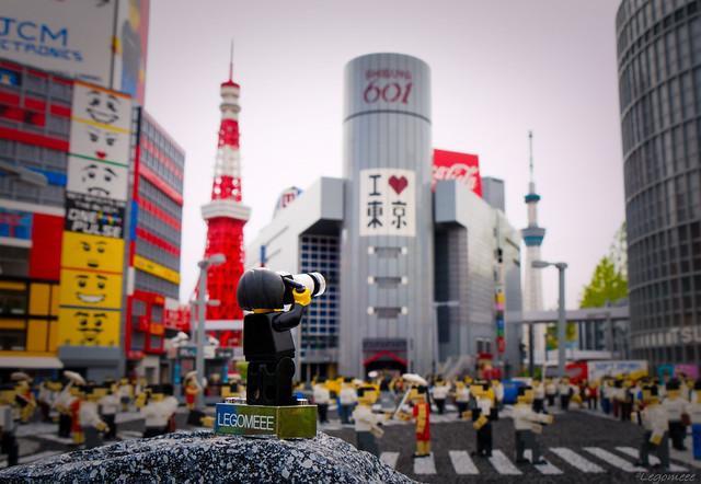 Legomeee at Tokyo