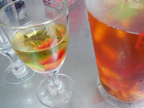 Pimm's Cup, the perfect drink for an early summer day